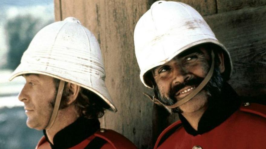 Imagen de 'El hombre que pudo reinar' de John Huston