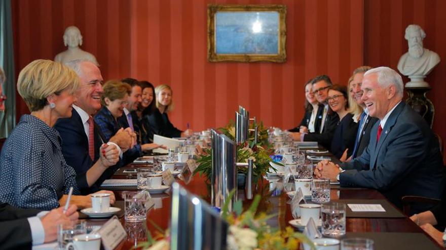 Australia y EEUU reafirman su alianza y se muestran firmes contra Pyongyang