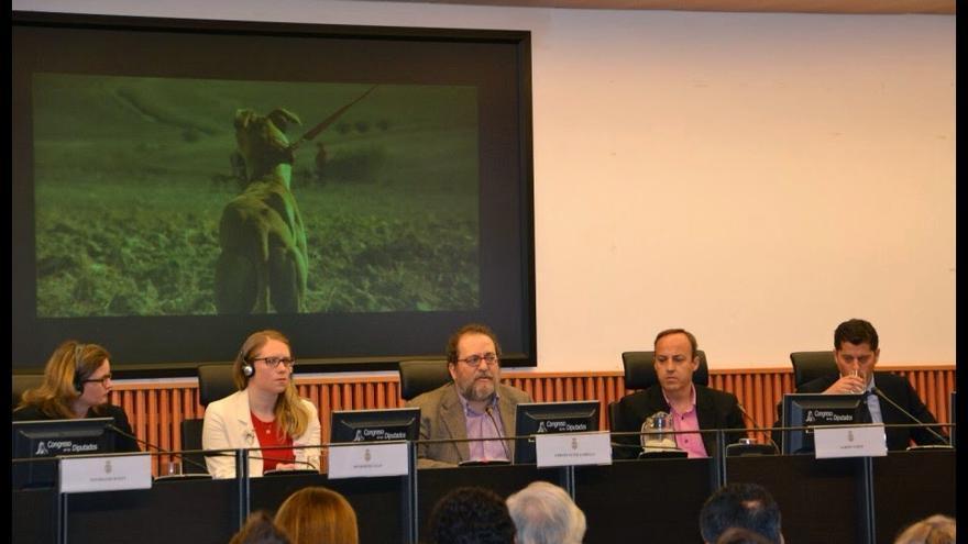 """""""Galgos: España ante el mundo"""" en el Congreso de los Diputados"""