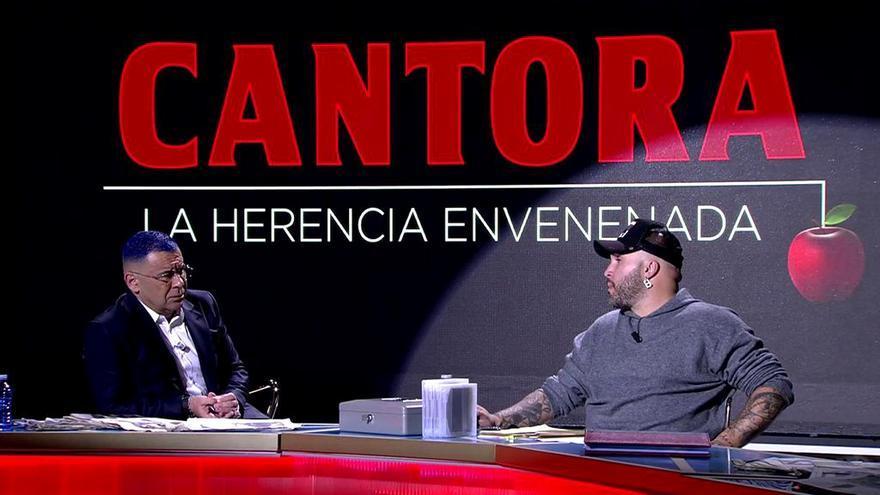 Jorge Javier Vázquez entrevista a Kiko Rivera en 'Cantora: La herencia envenenada'