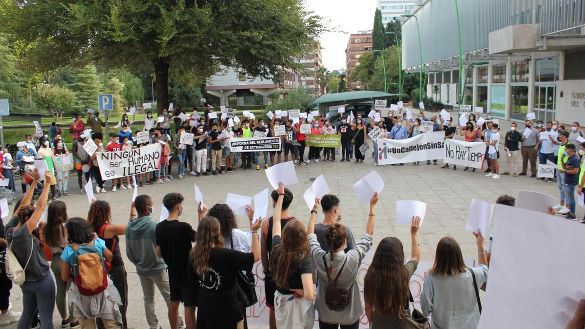 Protesta ante la Subdelegación del Gobierno