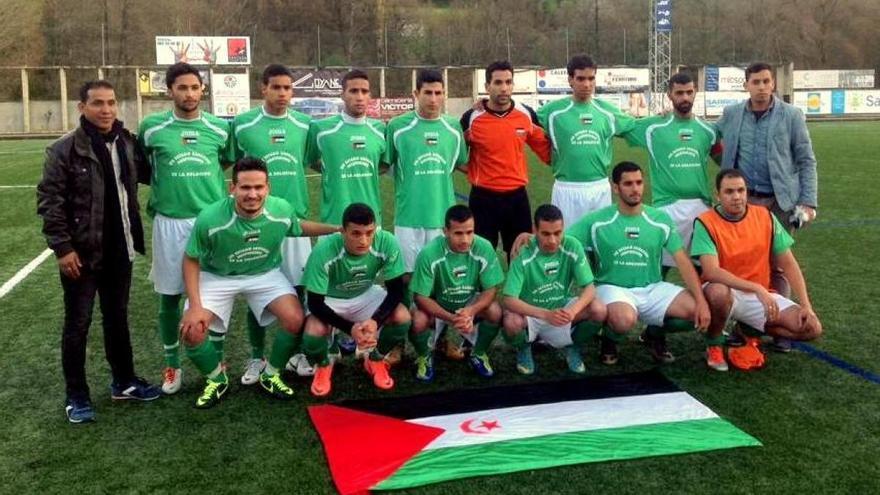 La selección de Sáhara, en Sarria