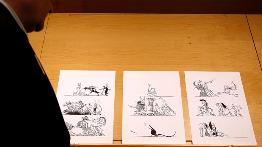 Un cómic de Max para celebrar el V centenario del Bosco en el Museo del Prado