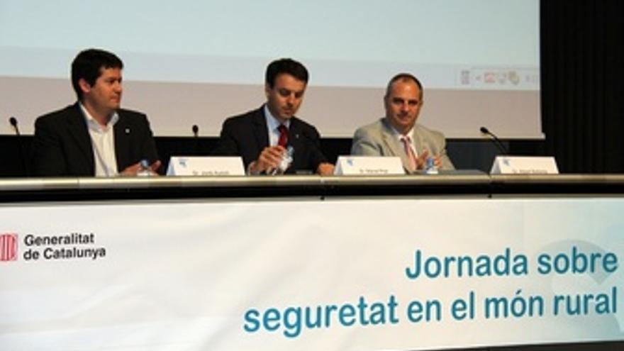 Manel Prat En Una Jornada De Seguridad En El Mundo Rural