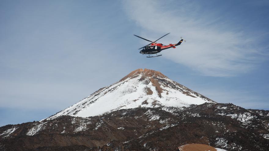 Rescate en el Teide. | Antonio Arbelo