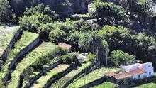 Bancales en el norte de La Gomera