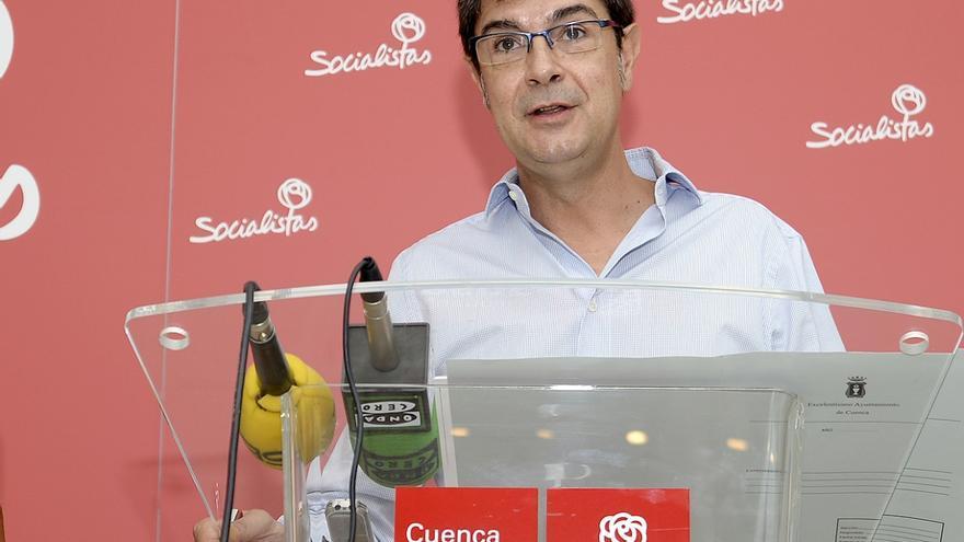 Juan Ávila, del grupo socialista en el Ayuntamiento de Cuenca