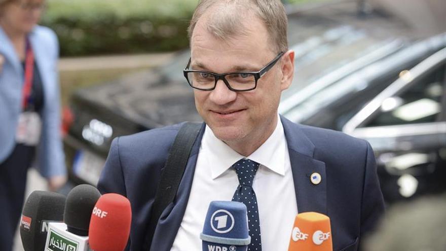 El primer ministro finlandés, Juha Sipilä.
