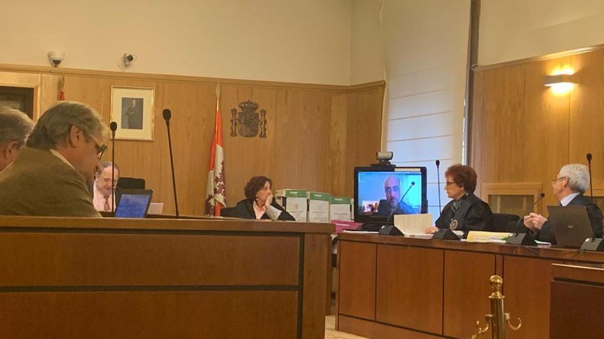 Intervención de Hoyuela, de Inzamac, en el juicio de la manipulación del PGOU