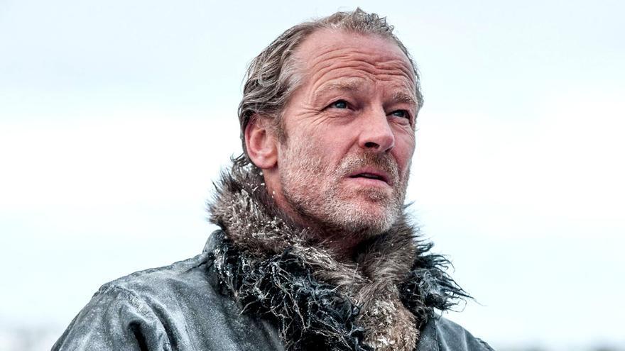 Iain Glen (Jorah Mormont) en Juego de Tronos