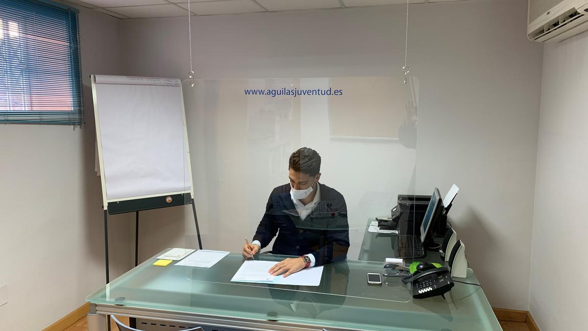 El concejal de Juventud de Águilas, Juan Andrés Torres