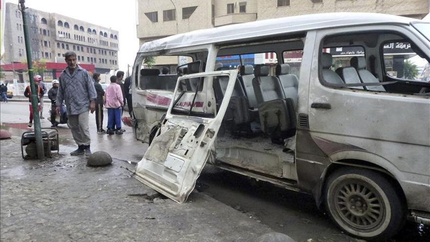 Nueve muertos y 50 heridos en un doble atentado contra una mezquita chií en Irak