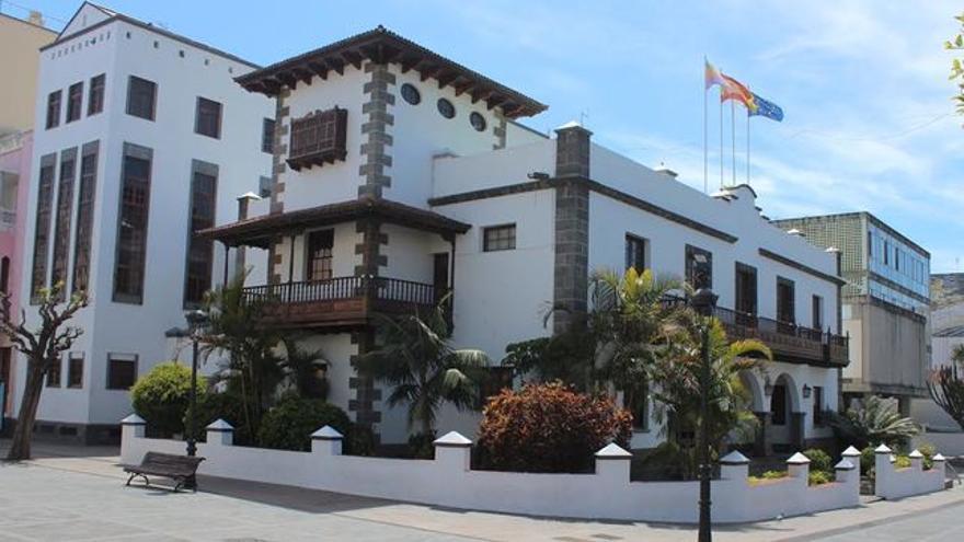 En la imagen, edificio del Ayuntamiento de Los Llanos de Aridane.