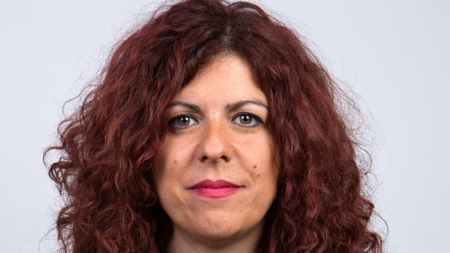 Elsa Salas, candidata de Izquierda Unida en el Ayuntamiento de Los Corrales de Buelna.