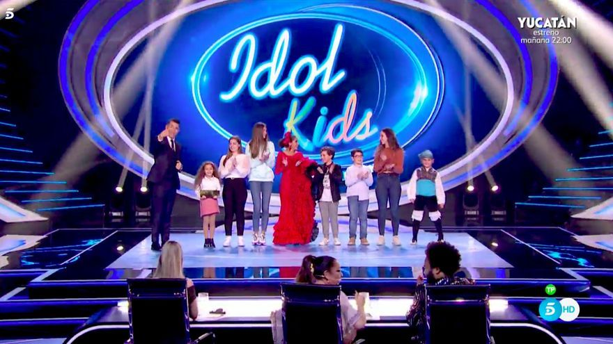 Los 8 primeros semifinalistas de 'Idol Kids'