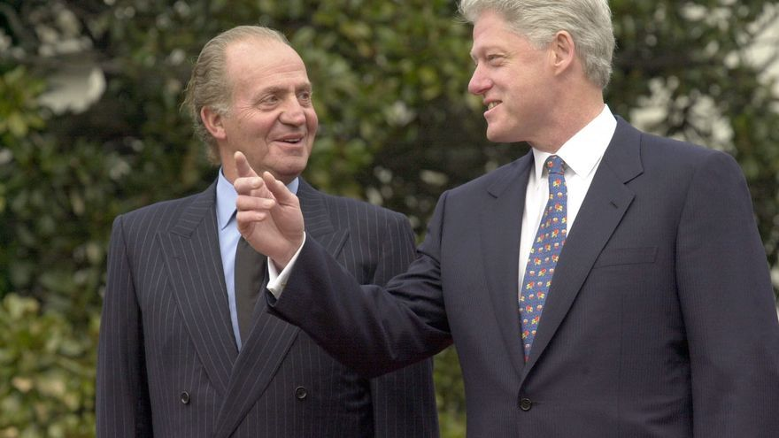 El rey se reúne hoy con Bill Clinton en un foro impulsado por el expresidente