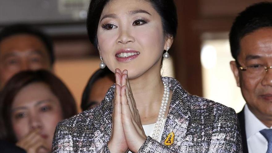 La ex primera ministra de Tailandia, imputada por negligencia