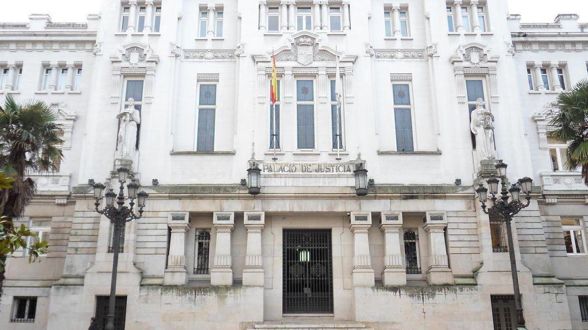Sede de Tribunal Superior de Xustiza de Galicia, en A Coruña