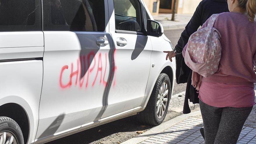 Vandalismo en Mirabueno | TONI BLANCO