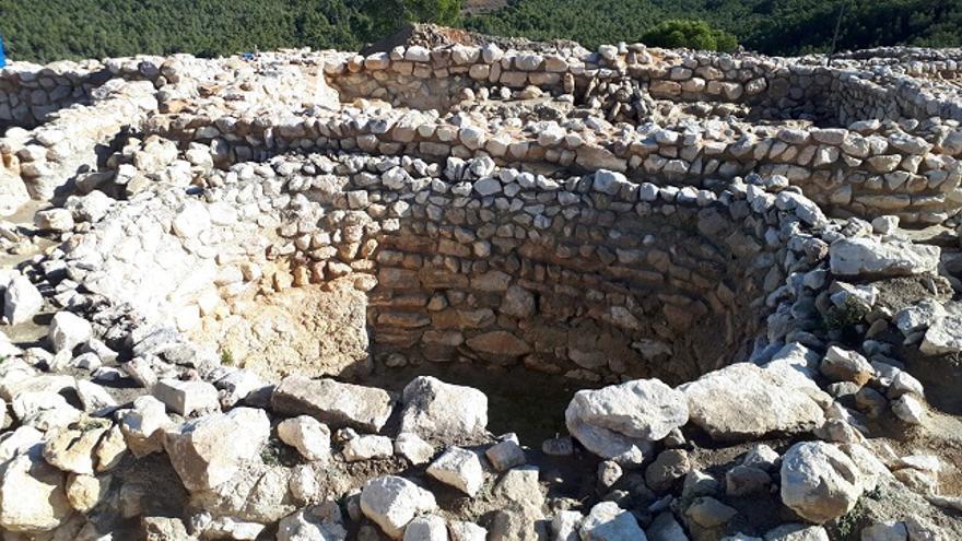 Yacimiento argárico de La Almoloya