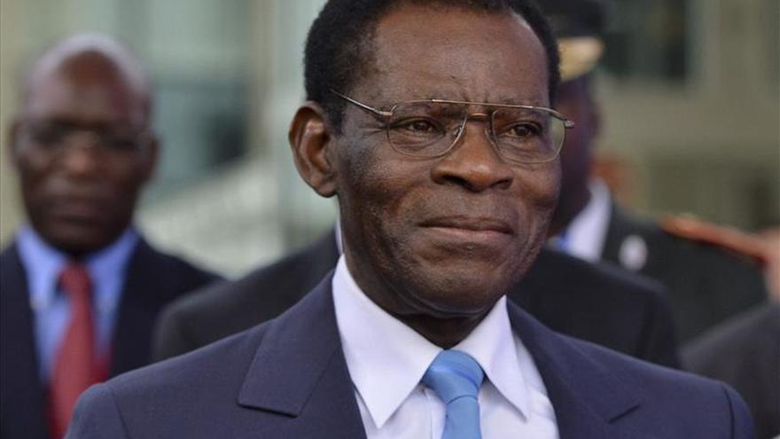 Obiang recibe el apoyo del partido para ser candidato en las elecciones de 2016