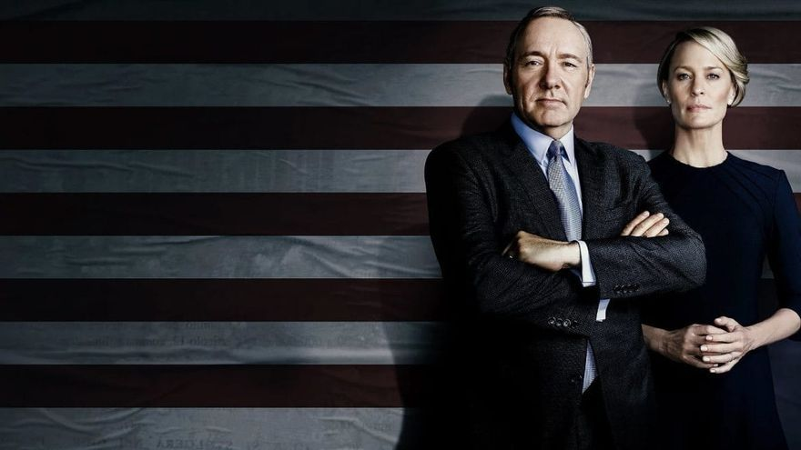 Kevin Spacey y Robin Wright, en la quinta temporada de 'House of Cards'