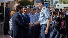 El Rey preside el festival aéreo del aniversario de la Academia del Aire en San Javier