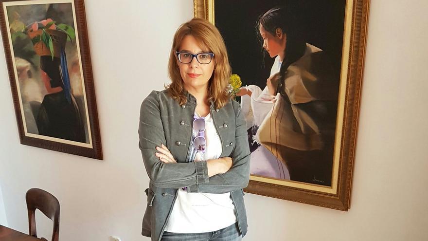 Inés Herreros, presidenta de la Asociación Gafas Lilas contra las Violencias Machistas.