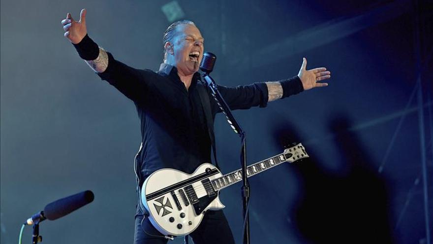 Metallica descarga su furia sobre Rock in Río en Las Vegas