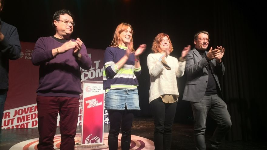 "Domènech (CatECP) advierte: ""Votar a Iceta es votar a Inés Arrimadas"""