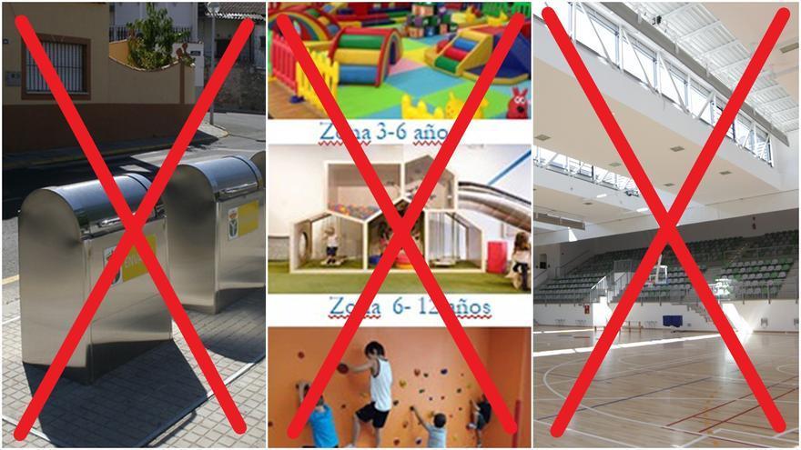 Contenedores soterrados, gimnasio infantil y centro deportivo municipal, las propuestas eliminadas de los presupuestos ciudadanos