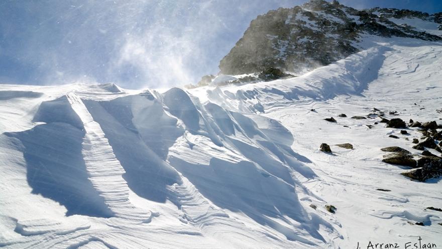 El espesor medio de la nieve en los Pirineos podría reducirse hasta un 50 % en 2050