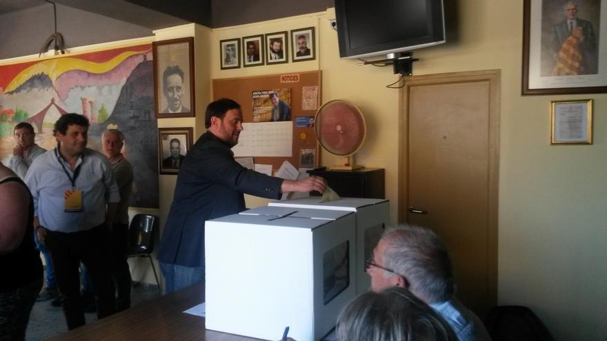 Junqueras afirma que ERC renovará su compromiso con una Cataluña independiente