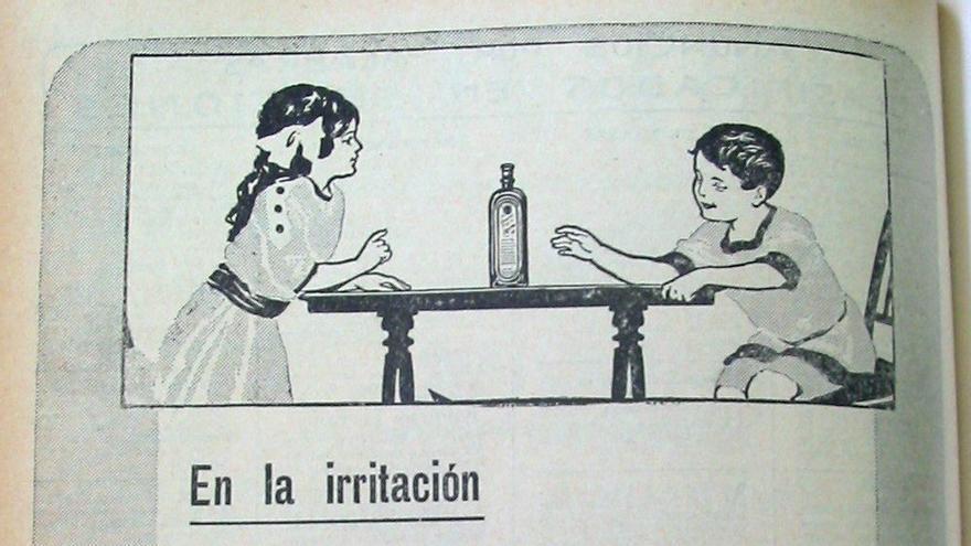"""Jarabe Bayer de heroína """"para las criaturas"""" anunciado en 'Blanco y Negro' el 7 de abril de 1912."""