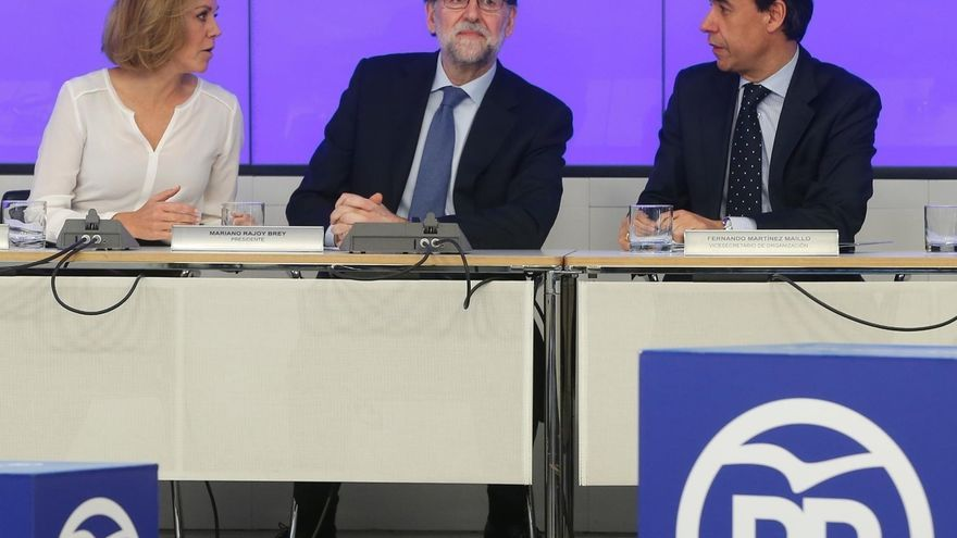Rajoy reúne este lunes a la Junta Directiva del PP que convocará el Congreso Nacional en febrero
