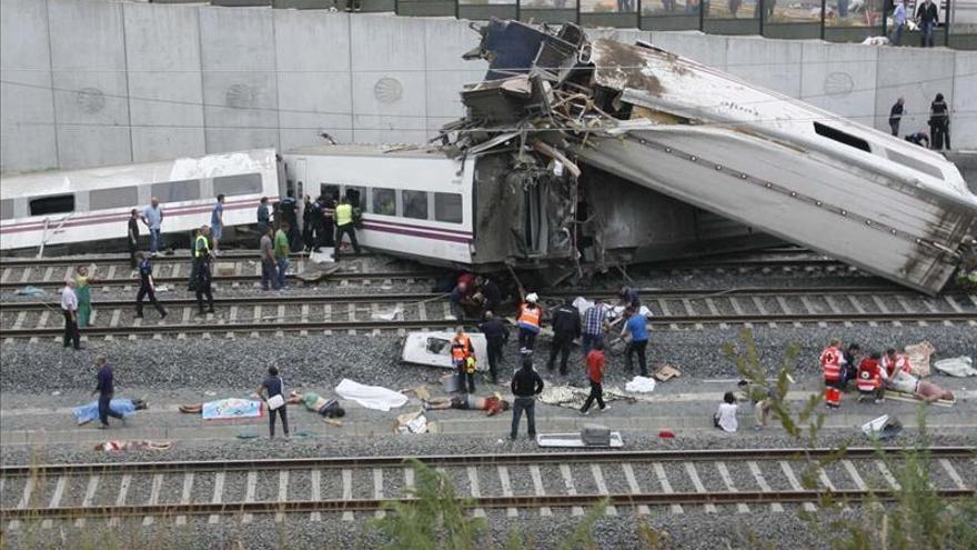 Uno de los peritos ratifica el exceso de velocidad en el accidente de tren de Santiago de Compostela