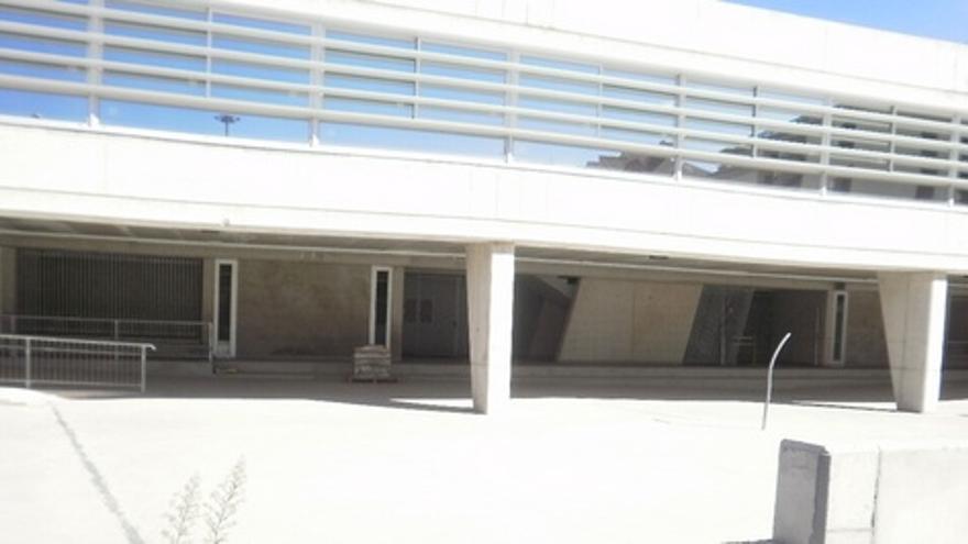 Obras del nuevo centro en Siete Palmas