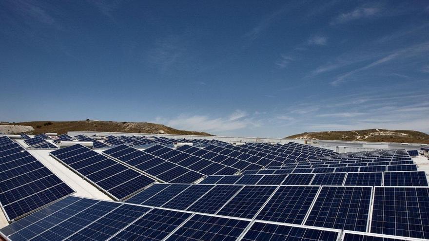 Una instalación fotovoltaica.