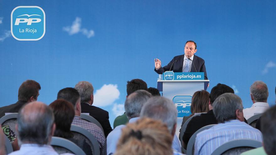 Pedro Sanz niega cualquier financiación ilegal en el PP de La Rioja para la compra de la nueva sede