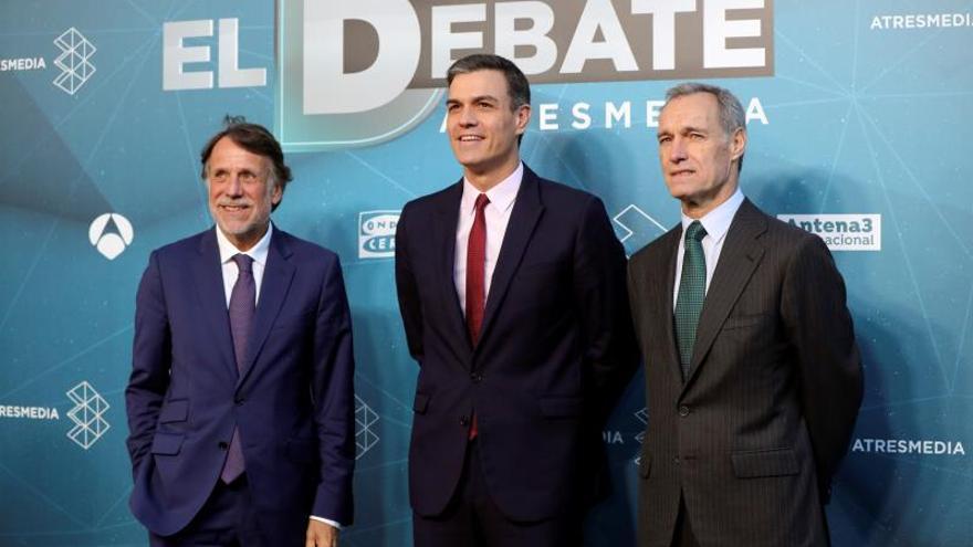 Sánchez, el último en llegar al debate de Atresmedia