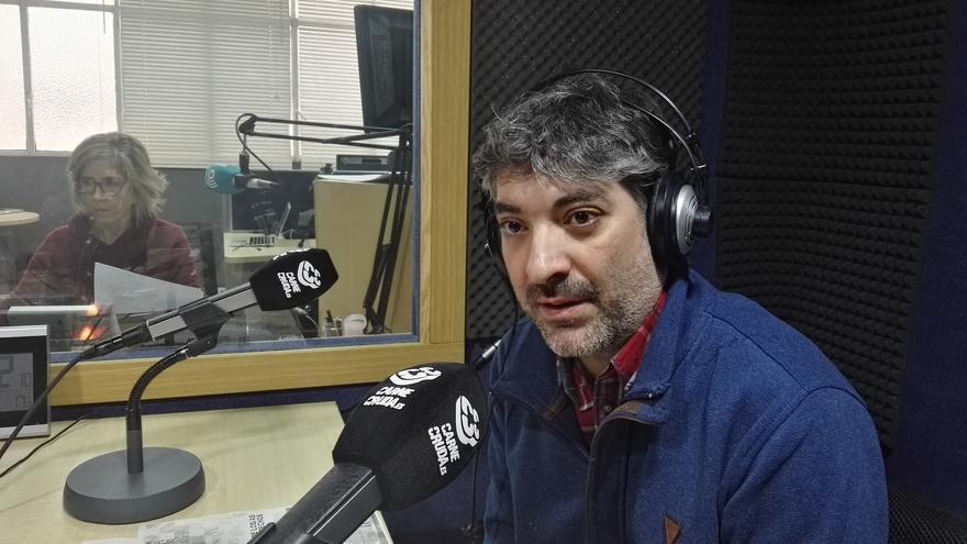 Ángel Gonzalo de Amnistía Internacional España en Carne Cruda