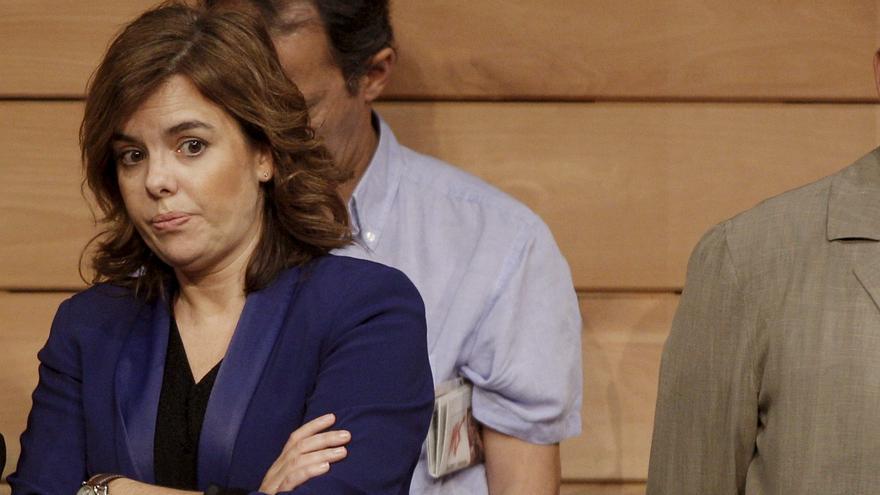 Sáenz de Santamaría destaca la participación de Carrillo en la Transición