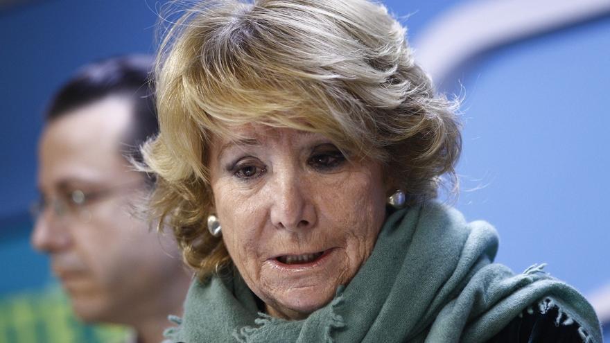 """Aguirre: """"Sea o no candidata, haré una llamada a la ilusión para que Madrid sea una de las capitales del mundo"""""""