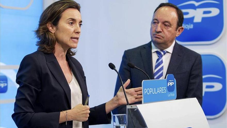 """Pedro Sanz asegura que el caso Bárcenas es algo """"zanjado"""" para el PP riojano"""
