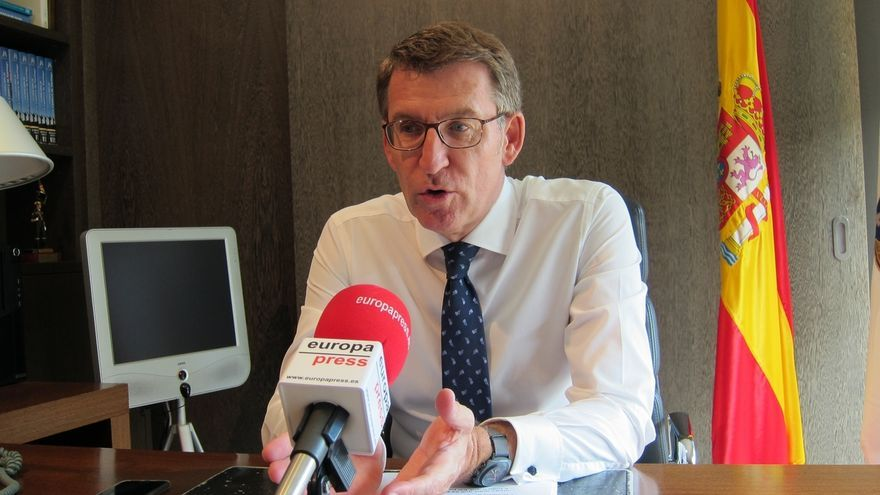 """Feijóo advierte a Rajoy que """"no debe negociar nada"""" con el actual Gobierno catalán: """"Sería un gravísimo error"""""""