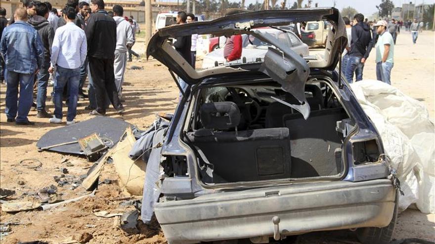 Dos coches bomba explotan en un mercado en la ciudad libia de Tobruk