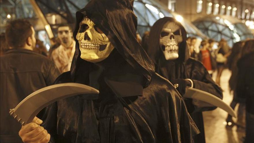 Más de 7 millones de brujas y zombis se lanzan a 70.000 fiestas de Halloween