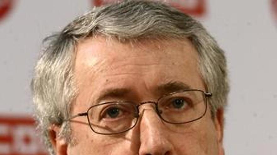 Secretario General De Ccoo Ignacio Fernández Toxo