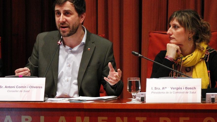 El conseller Comín en un Ple al Parlament de Catalunya
