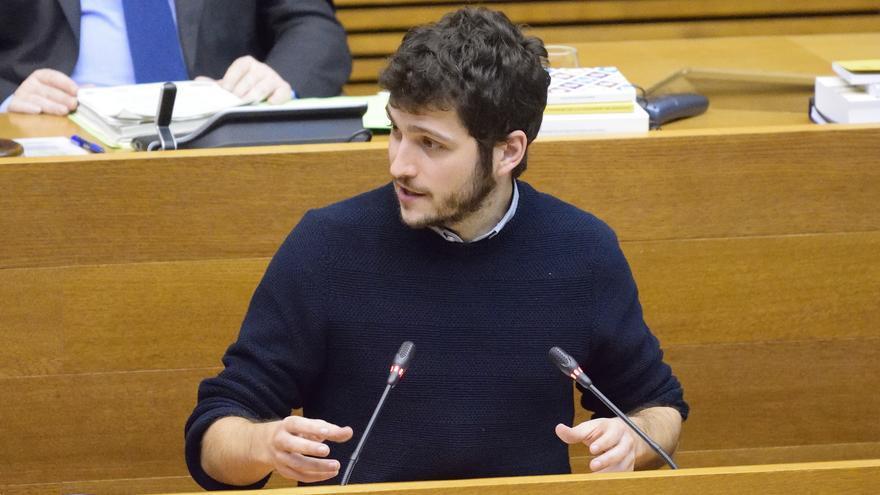 El síndic de Podemos, Antonio Estañ.